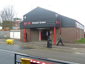 Image illustrative de l'article Kensal Green (métro de Londres)