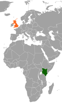 Diplomatic relations between the Republic of Kenya and the United Kingdom of Great Britain and Northern Ireland
