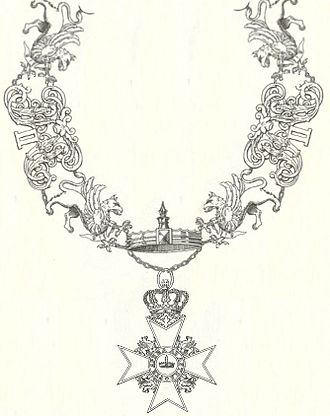 House Order of the Wendish Crown - Chain of the Mecklenburg-Schwerin version of the Order