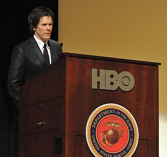 Kevin Bacon - Bacon speaking before a premiere of Taking Chance in February 2009