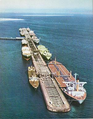 Kharg Island - Image: Kharg oil loading terminal