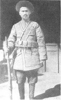 Uighur Emir of the First East Turkestan Republic