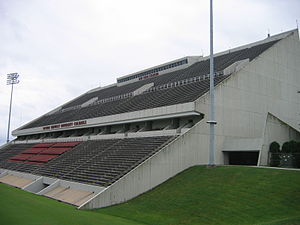 Roy Kidd Stadium - Image: Kidd Stadium 2