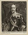 King Charles I. Engraving by J. Meyssens, after A. van Dyck. Wellcome L0075400.jpg