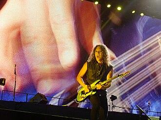 Kirk Hammett - Kirk Hammett in 2010