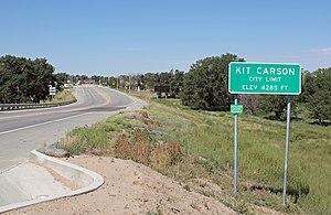 Kit Carson, Colorado - Kit Carson in 2013.