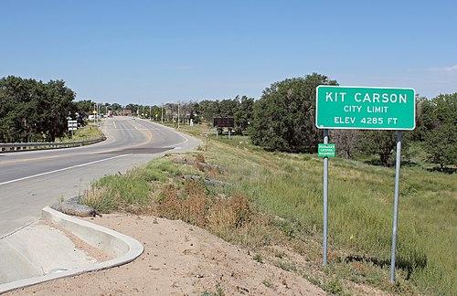 Kit Carson mailbbox