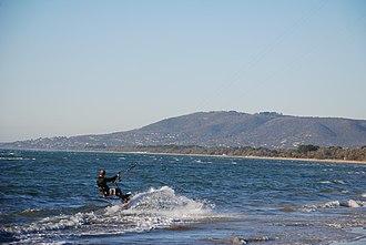 Rye, Victoria - Image: Kitesurfing Rye Australia DSC 2015