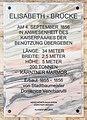 Klagenfurt Villacher Vorstadt Lendhafen Elisabeth Brücke Gedenkplakette 19042019 6488.jpg