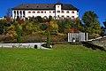 Klagenfurt Wölfnitz Unterkröllstraße 12 Schloss Seltenheim W-Ansicht 06102008 8517.jpg