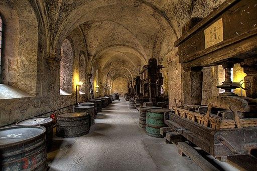 Kloster Eberbach Weinkeller