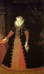 Bildnis der Königin Anna von Österreich, Königin von Polen, Gemahlin Sigismunds III. von Polen (1573-1598)