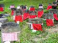Kofukuji Temple - Jizo statues.jpg