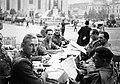 Kolozsvár 1940, magyar katonák a Fő téren. Fortepan 4607.jpg