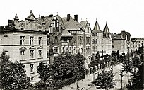 Photo of Tiergartenstrasse in the 1920s