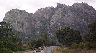 Masvingo Province - Image: Kopje A1 Highway Masvingo