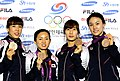 Korea London WomenTeam Fencing 25 (7730588706).jpg