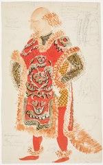 Kostymskiss av Isaac Grünewald - Volpone