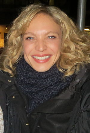 Kristin Lehman - Lehman on the set of Motive in November 2012