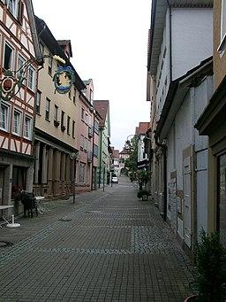 Schnurgasse in Künzelsau