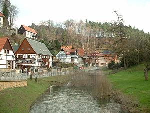 Rathen - Rathen shortly after the 2006 flood
