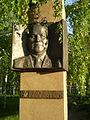 Kuz'ma Alexandrovitch Sementchenko, Hero of Soviet Union monument in Pavlodar' Alley of Glory, 2009.JPG