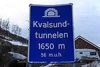 Kvalsundtunnelen Sign P1.jpg