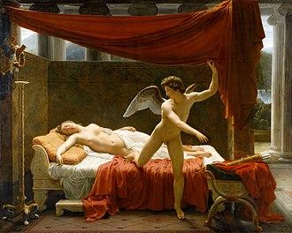 François-Édouard Picot - François-Édouard Picot, L'Amour et Psyché (1817).