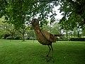 L'oiseau d'acier dans le parc a chateaubourg - panoramio.jpg