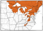 L77 Map 4-NE Acer spicatum.png
