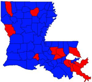 Louisiana gubernatorial election, 2003 - Image: LA Gov Election Nov 03