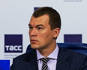 Mikhail Degtyarev - Image: LDPR Mikhail Degtyarev Moscow Tass 08 2016