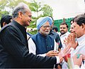 LL Sharma with Prime Minister of India Mr. Manmohan Singh.jpg