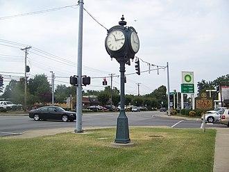 Lyndon, Kentucky - Image: LYNDONCLOCKTOO