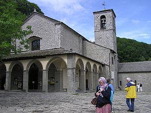 Chiusi della Verna - Big church