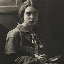La pittrice Pina Calì (1921).jpg