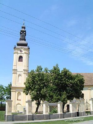 Laćarak - Serbian Orthodox church