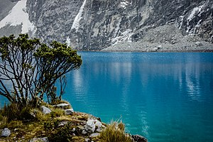 Lake 69 - Image: Laguna 69, Yungay Huaraz Perú