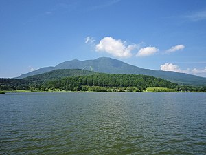 Iizuna, Nagano -  Lake Reisenji and Mount Iizuna