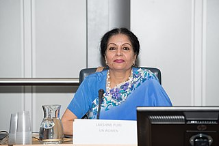 Lakshmi Puri United Nations official