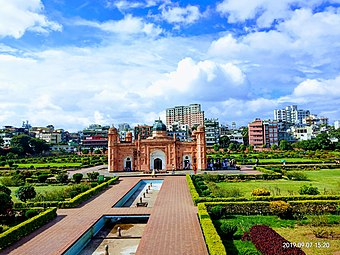 Lalbagh Fort smallar view.jpg