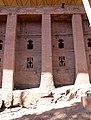 Lalibela, chiesa di bete medhane alem, esterno 21.jpg