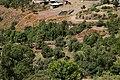 Lalibela, chiesa di san giorgio vista dalla collina.jpg