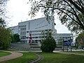 Landesmuseum für Technik und Arbeit Blick auf Haupteingang.JPG