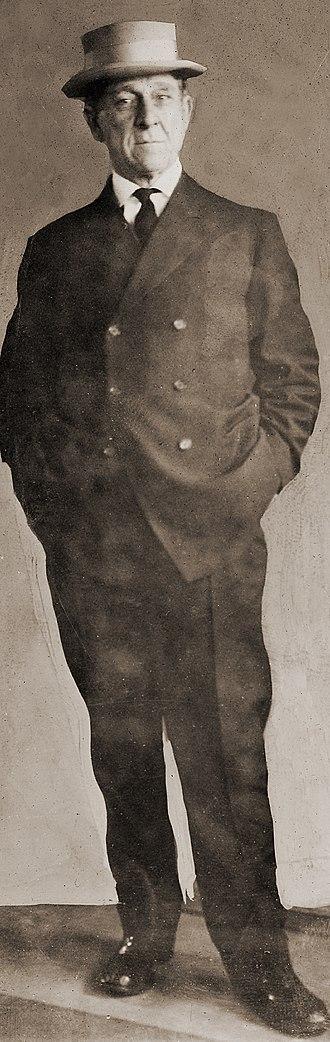 Harry Lane - Senator Lane posing for a press photo.