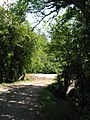 Lane ^ bridge over former railway, Creigiau - geograph.org.uk - 2486743.jpg