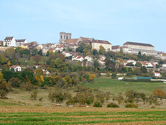 Didier Diderot - Contemporary view of Langres (Haute-Marne)