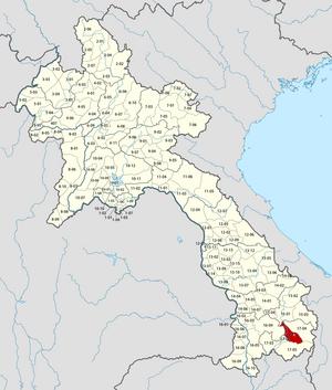 Saysetha District - Image: Laos Xaysetha District