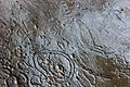 Lapa do Santo - Rock art - Low relief at exposed floor 01.jpg