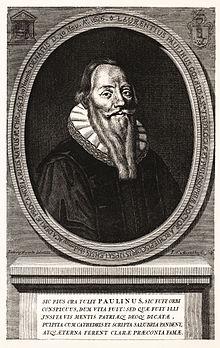 Laurentius Paulinus Gothus på samtidige kobberstik